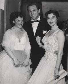 Howard Keel, Kathryn Grayson & Ava Gardner