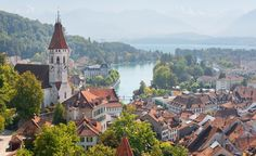 The small lakeside town of Thun, Switzerland, packs a lot of charm into just eight square miles. (From: Photos: 7 Trips Budget Travelers Couldn't Resist)