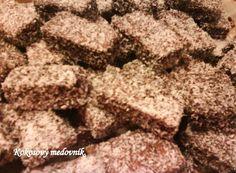 Fotorecept: Kokosový medovník - Recept pre každého kuchára, množstvo receptov pre pečenie a varenie. Recepty pre chutný život. Slovenské jedlá a medzinárodná kuchyňa