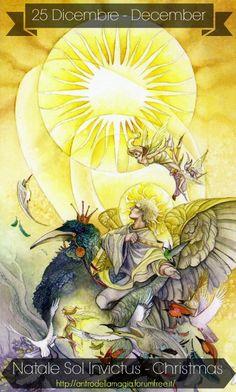 25 Dicembre Natale Sol Invictus - Calendario Festività Pagane / Pagan Festival Calendar   http://antrodellamagia.forumfree.it/?t=64119517
