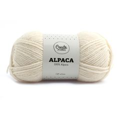 Adlibris Alpackagarn 50g Off White A001