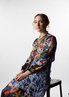 Actress Saoirse Ronan poses for a portrait at the Annual Palm Springs International Film Festival for The Wrap on January 2016 in Palm Springs, California. Pretty People, Beautiful People, Irish Girls, New Trends, Girl Crushes, My Girl, Celebrity Style, Celebs, Female Celebrities