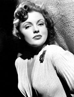 Actress JOAN LESLIE 8x10 Black and White Studio Publicity Portrait Photo Print