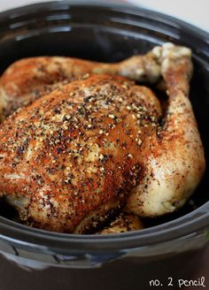 Slow Cooker Chicken - No. 2 Pencil