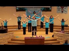 """Emmanuel Mennonite Church signing to Matt Redman's song Reasons"""" on April Directed by Martha Friesen. // If you have any questions about thi. Kids Worship Songs, Worship Dance, Kids Songs, Christian Skits, Spanish Christian Music, Christian Memes, Sign Language Songs, Teaching Abcs, Church Songs"""