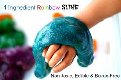 Fun Outdoor Crafts for Kids: 1-Ingredient Slime