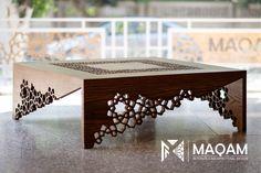 Metal Furniture, Home Decor Furniture, Table Furniture, Furniture Design, Arabic Decor, Islamic Decor, Coffee Table Design, Coffe Table, Interior Design Living Room