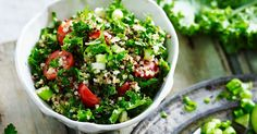 The addition of quinoa to this classic Middle-eastern dish makes it a satisfying option.
