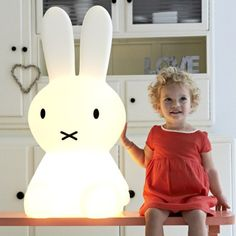 Wow, our kids would love this XL Miffy Lamp!