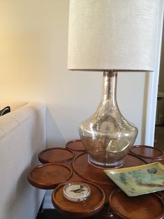 Pier 1 Grand Luxe Lamp. Love The Lamp! That Table Is Awesome Too And