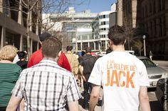 """Jane's Walk 2013: Toronto, Ontario, Canada - """"Jack's Walk"""" - Guided by Mike Layton & Friends - Photo by Jeremy Kai - http://www.janeswalk.net/"""