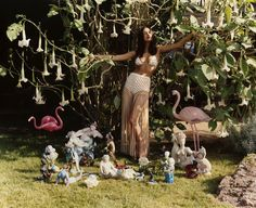 Irina Shayk by Harley Weir for Missoni Spring/Summer 2017 Campaign