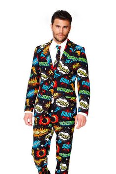 An Ode To Comic-Con Suit