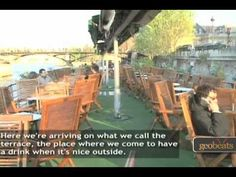 Houseboats in Paris, France