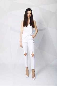 I love those pants! White Jeans, Spring Summer, Pants, Shopping, Collection, Fashion, Trouser Pants, Moda, Fashion Styles