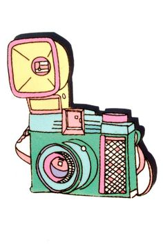 Retro Camera Brooch Pin Gadget Series by kitedesign on Etsy, $12.00