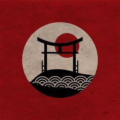 Japan on Behance Japanese Artwork, Japanese Tattoo Art, Arte Ninja, Mont Fuji, Japan Art, Japan Japan, Japan Crafts, Hokusai, Japon Illustration