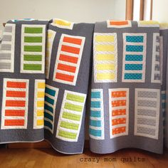 ladder leap quilts | crazy mom quilts