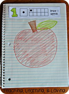 Interactive Math Journals for Pre-K