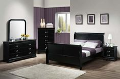 You searched for 5 pc queen bedroom set - Colfax Furniture & Mattress Black Bedroom Sets, 5 Piece Bedroom Set, King Bedroom Sets, Queen Bedroom, Master Bedrooms, Dream Bedroom, Master Suite, Modern Bedroom Furniture Sets, Shabby Chic Furniture