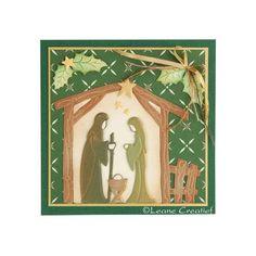 Leane Creatief Cutting Dies - Nativity 450843
