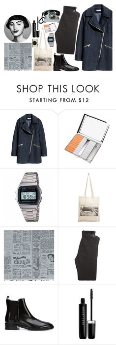 """""""nothing to much"""" by eszterk9 on Polyvore featuring H&M, Casio, Borders&Frontiers, Classified, Citizens of Humanity, Retrò, Alexander Wang and Marc Jacobs"""