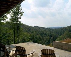a patio with a view / Ian MacDonald architect