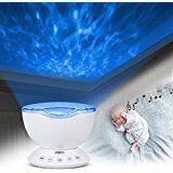 Aeeque® Romantisch / Blau Sternenhimmel Mini-Stern-Projektor / mit USB Kabel / LED Nachtlicht Projektor Lampe Kinder Nachttischlampe Schlafzimmer Haus Dekoration: Amazon.de: Baby