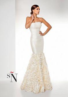 Vestido de novia de Sonia Peña