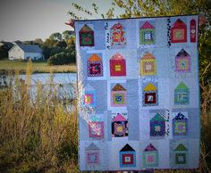 WISH do. Good Stitches scrappy neighborhood quilt | Flickr - Photo Sharing!