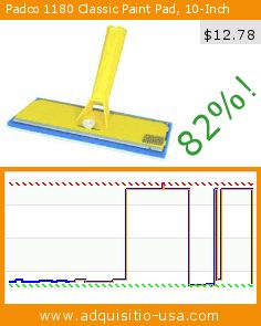 Padco 1180 Classic Paint Pad, 10-Inch (Tools & Home Improvement). Drop 82%! Current price $12.78, the previous price was $69.53. http://www.adquisitio-usa.com/padco-incorporated-usa/padco-1180-classic-paint