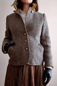 Tweed jacket would pair well w Dirndl