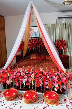 Style2klik blogspot com  Ideas For Lovely Decoration Of Bridal Roombedroom decoration for wedding night   How to s   Pinterest  . Pakistani Wedding Room Decoration. Home Design Ideas