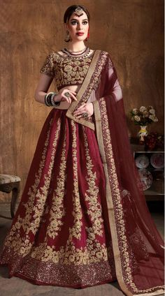 Pakistani Bridal Red Lehnga Choli for Wedding in in Elegant style and perfect color choice for wedding event. Buy Latest Pakistani Lehnga Online in USA. Lehenga Choli Online, Bridal Lehenga Choli, Pakistani Bridal, Indian Bridal, Wedding Sarees, Raw Silk Lehenga, Indian Lehenga, Silk Sarees, Home Design