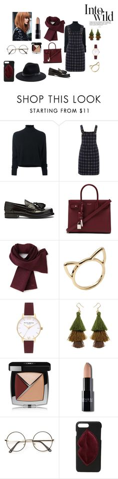 """""""into the wild"""" by mathildepl07 on Polyvore featuring mode, Le Kasha, Red Herring, Prada, Yves Saint Laurent, Lacoste, Topshop, Chanel, Kendall + Kylie et Sole Society"""