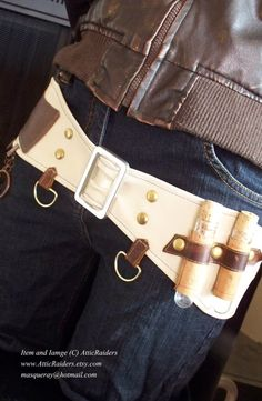 Items similar to White Leather Steampunk Belt on Etsy Steampunk Belt, Steampunk Cosplay, Steampunk Clothing, Steampunk Fashion, Cosplay Diy, Cosplay Outfits, Steampunk Accessories, Leather Accessories, Punk Outfits