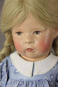 """18"""" KATHE KRUSE DOLL 1H - by Apple Tree Auction Center"""