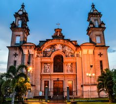 Catedral de la ciudad de tucupita en el estado delta amacuro, Venezuela.