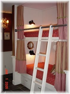 more ideas for bunk bed curtain