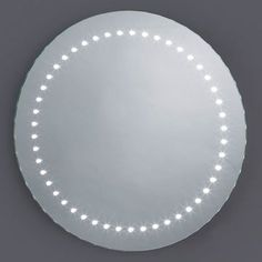The Estrella LED mirror is part of our new Slimline range. With a slim profile and 48 white LED'S it is ideal for the application of makeup and shaving. £95