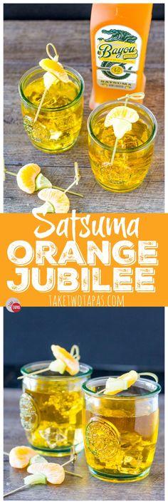 Orange Jubilee 3 ingredient cocktail | Take Two Tapas
