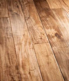 Nola Handscraped Flooring, Acacia Wood Floors, Plank Hardwood Flooring - <3 <3 <3.