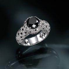 Echo  Designer Diamond Ring by shireeodiz on Etsy, $8500.00