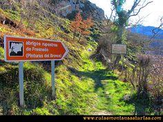 Rutas Montaña Asturias: Pinturas Rupestres de Fresnedo
