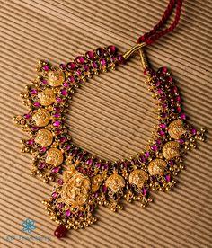 The Pragya Silver Nakkasi Necklace