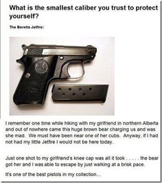 This believer of the 2nd Amendment. | The 19 Most Unexpected Plot Twists On The Internet