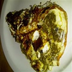 Portobello Pesto Egg Omelette Allrecipes.com