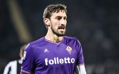 Download wallpapers Davide Astori, footballers, match, Fiorentina, football, Juve, Serie A, soccer, ACF Fiorentina, Astori