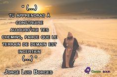 Aprendiendo (Tu apprendras) - Jorge Luis Borges - Coaching D.V.P.