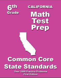 6th Grade California Common Core Math